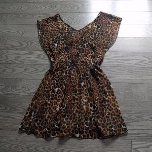🍀 Animal pattern dress by Express🍀🍀🌺🌺